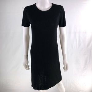 DKNY Medium Black Knee Shift Dress